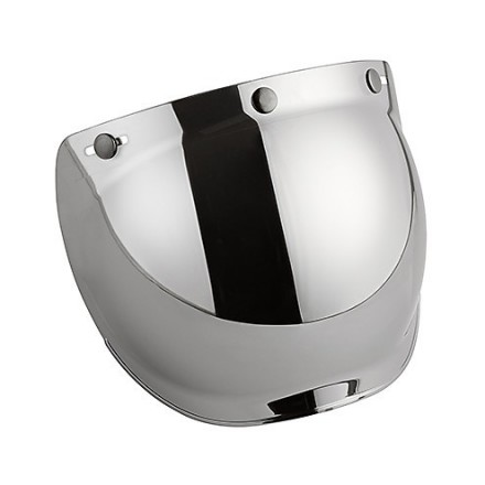 TR Mirror Silver bubble  visor