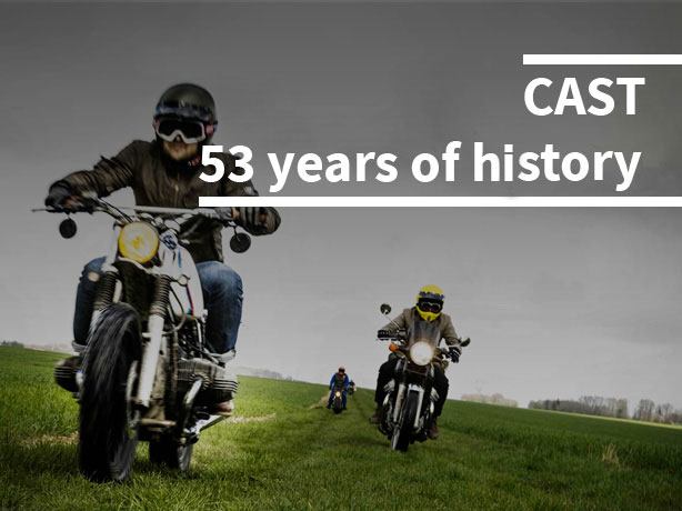 Cast - History 53 years long